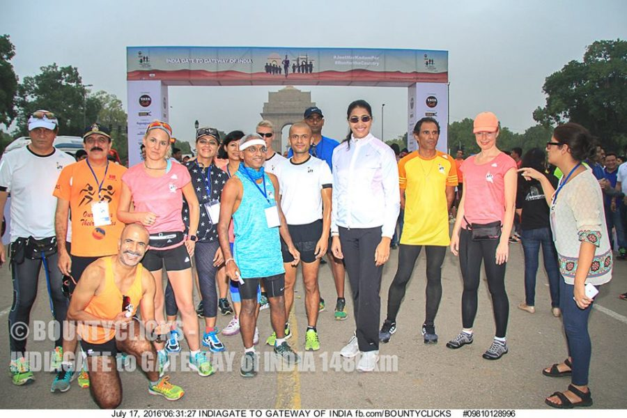 The Great India Run - Start Point